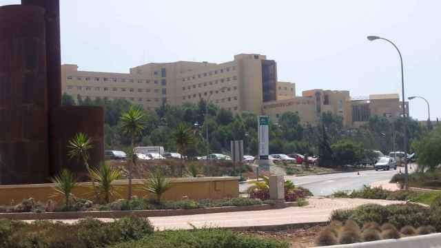 Exterior del Hospital Torrecárdenas de Almería.