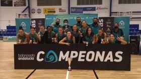 El CAB Estepona, campeón de la Copa Femenina de la Diputación de Málaga