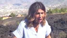 Un terremoto en Las Palmas sorprende a una reportera durante una conexión en directo