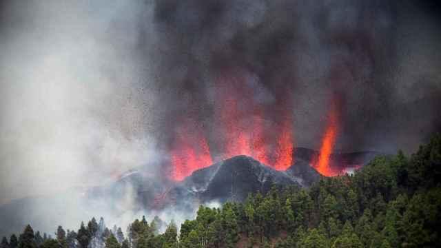 Imágenes: la erupción del volcán Cumbre Vieja en La Palma