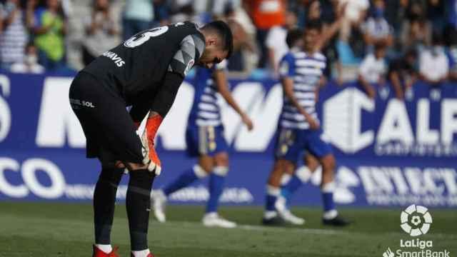 Al Málaga le pintan la cara con una goleada de la Ponferradina (4-0)