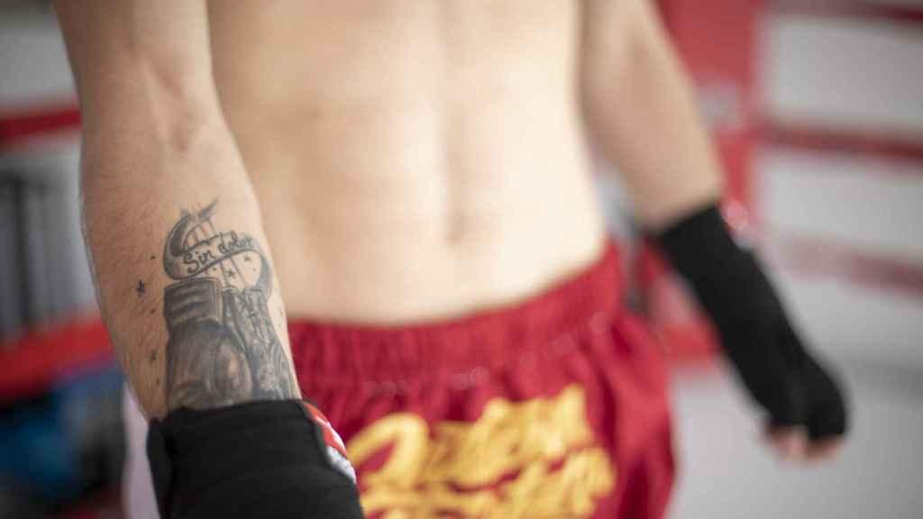 'Sin dolor', el tatuaje en la piel de Rubén Rondón