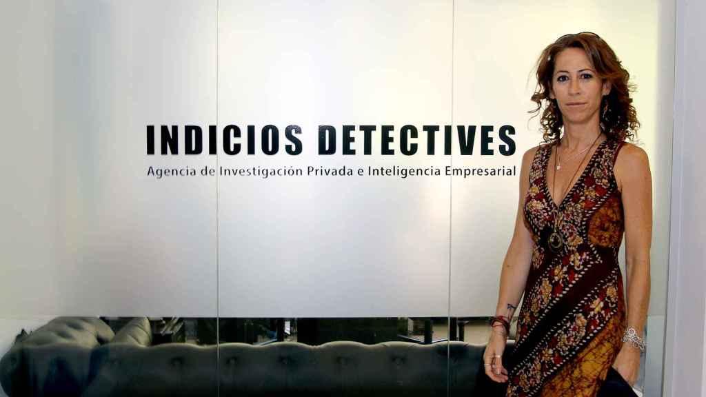Alicia Lerma es la directora de la agencia de detectives privados Indicios.