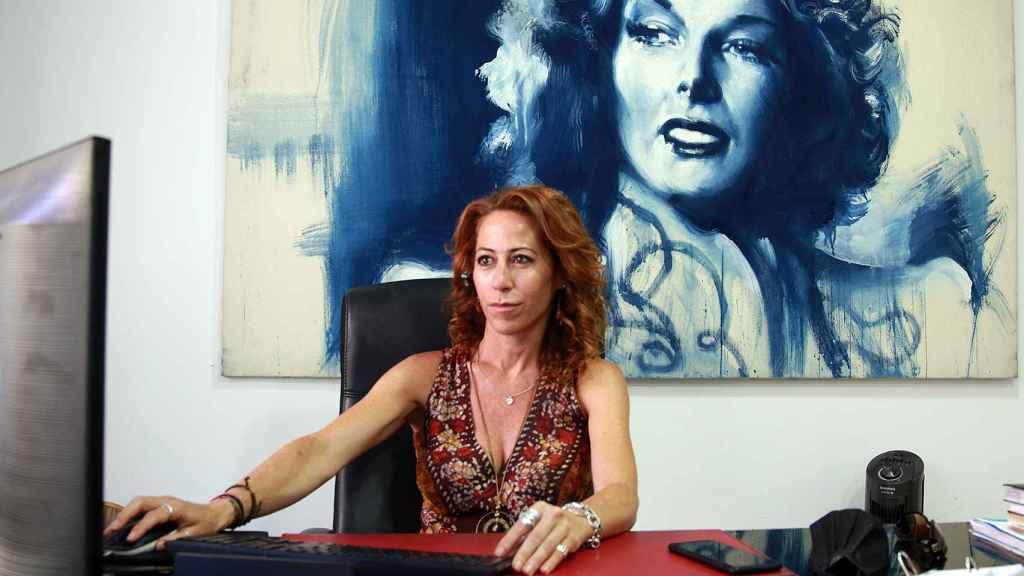 Alicia Lerma en su despacho de Madrid.