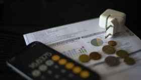 Una factura del consumo de luz, a 10 de septiembre de 2021, en Madrid (España).