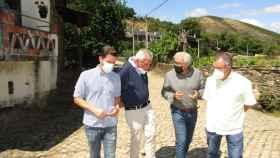 Reivindicación Junta en Rio de Onor carretera Bragança Puebla de Sanabria