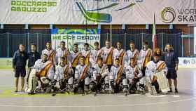 Selección española hockey linea