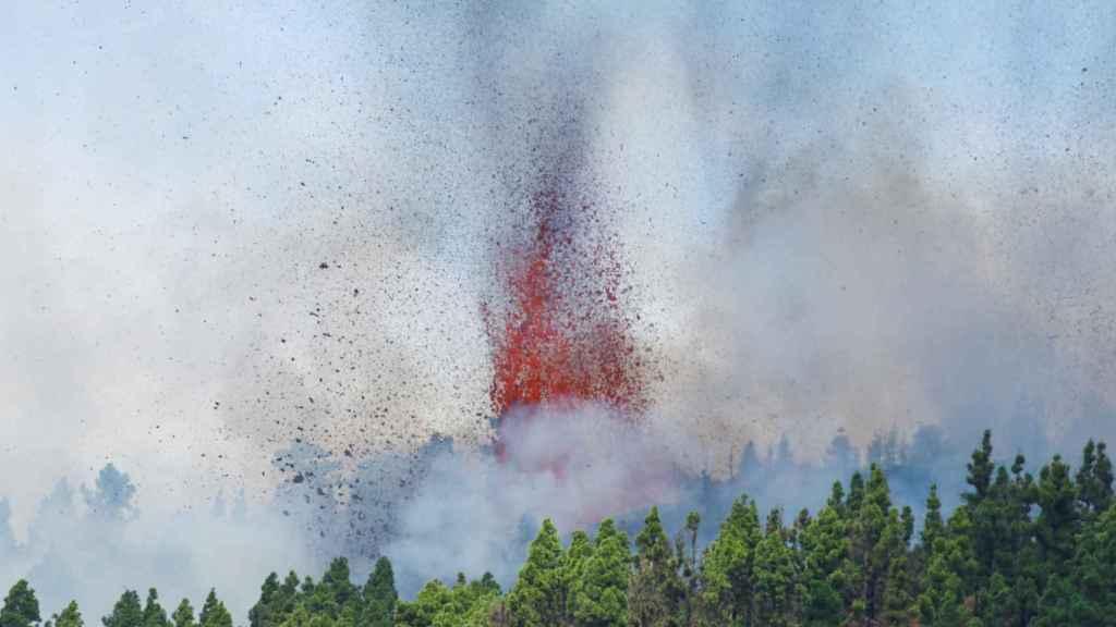 Erupción en La Palma.