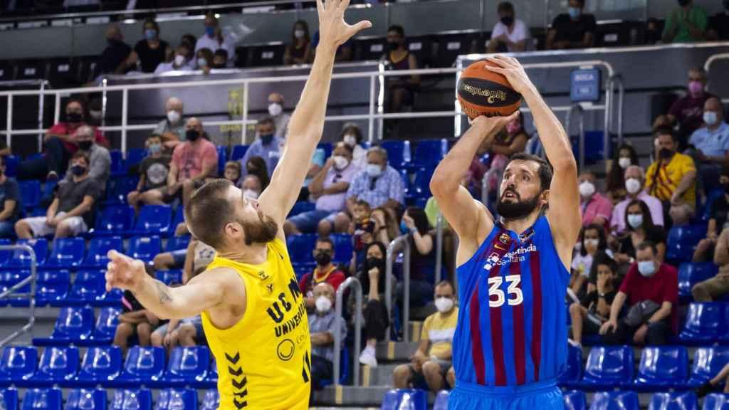 Mirotic anota unt triple ante UCAM Murcia