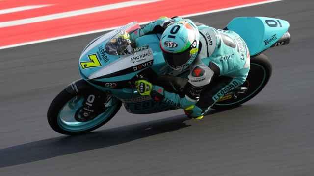 Dennis Foggia en el circuito de Misano en el Gran Premio de San Marino