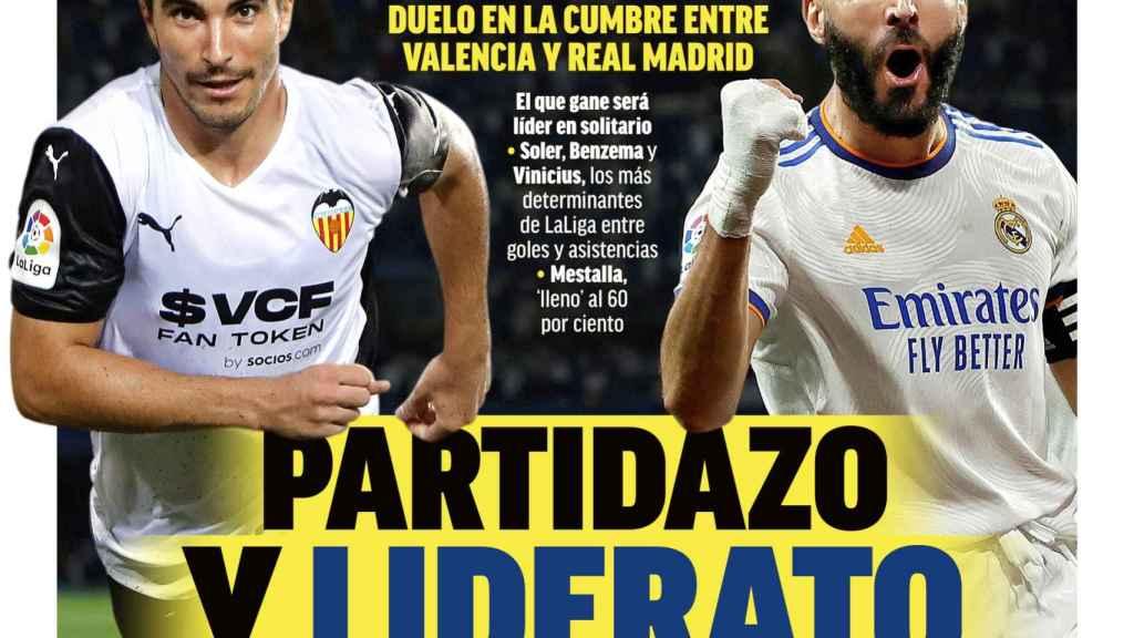La portada del diario MARCA (19/09/2021)