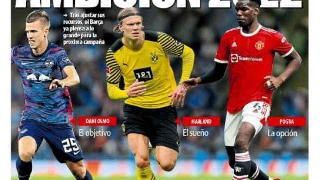 La portada del diario Mundo Deportivo (19/09/2021)