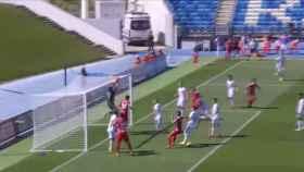 Gol fantasma en el Castilla - Nastic