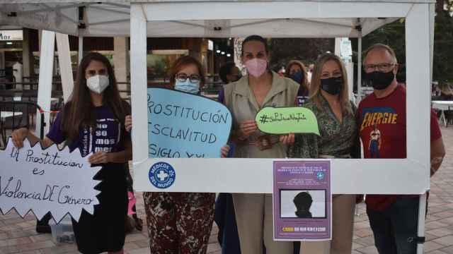 Las imágenes del día en CLM: Médicos del Mundo sensibiliza sobre la prostitución en Ciudad Real
