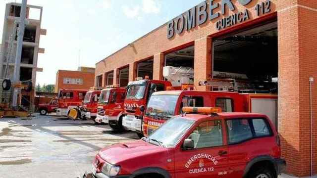 Arde un camión aparcado en el mercado de abastos de Cuenca capital