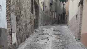Cortada al tráfico desde este lunes la Bajada de San Sebastián de Toledo