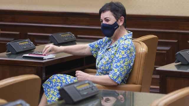 La portavoz de EH Bildu en el Congreso, Mertxe Aizpurua, en una foto de archivo.