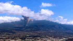 Erupción del volcán Cumbre Vieja de La Palma.