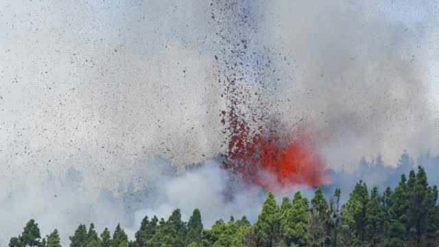 Erupción del Cumbre Vieja en La Palma.