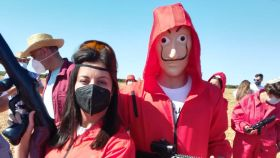 Los vecinos de Quintanar del Rey (Cuenca) han vuelto a protestar contra la macrogranja de cerdos.