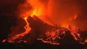 Imagen de la erupción del volcán Cumbre Vieja en La Palma.