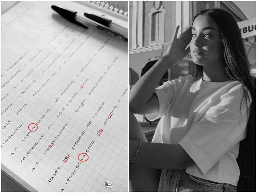 La grafóloga Macarena Arnás ha analizado la letra de Julia Janeiro.