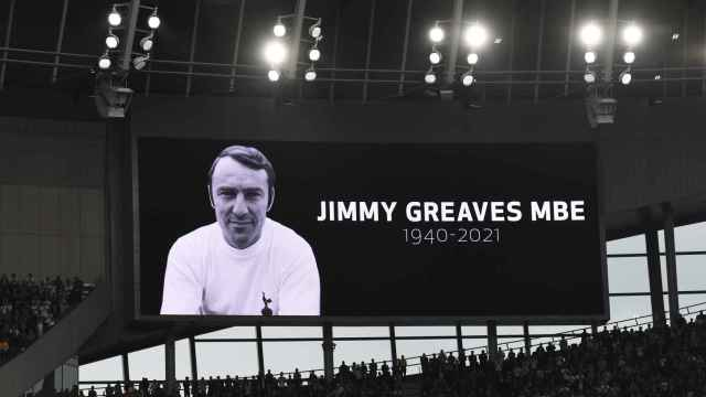 El homenaje a Jimmy Greaves en el Tottenham Hotspur Stadium