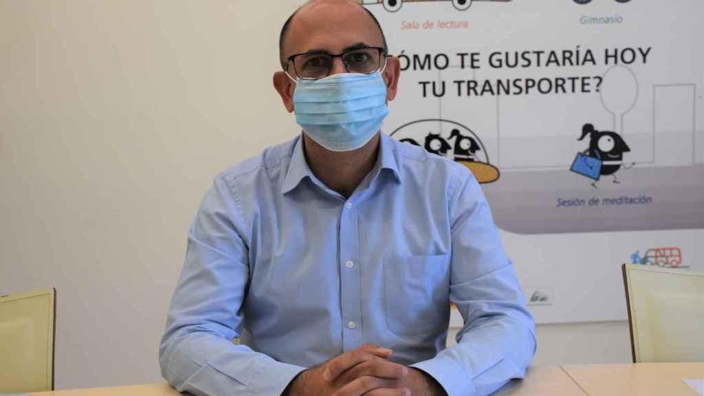 Luis Vélez, concejal de Movilidad del Ayuntamiento de Valladolid