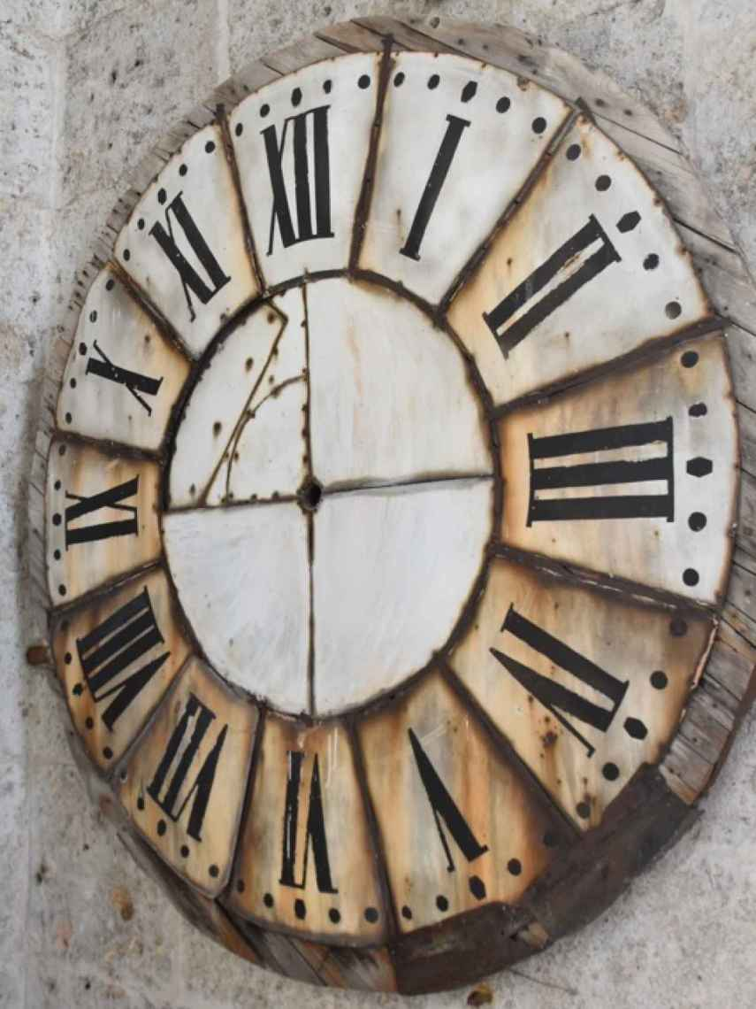 Reloj original de la Catedral de Valladolid
