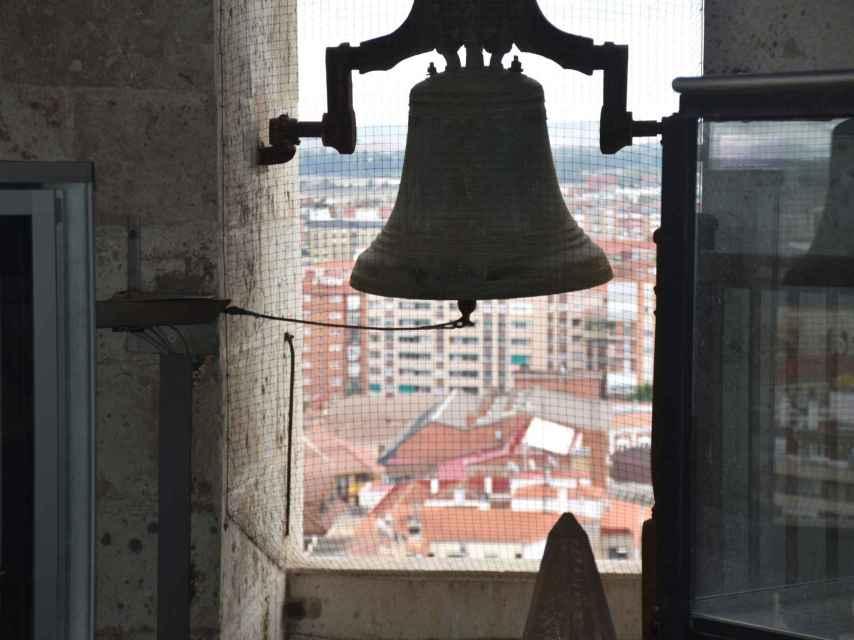 Vista del centro de Valladolid desde la torre de la Catedral