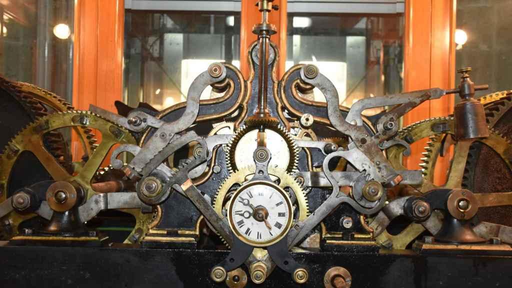 Maquinaria del reloj de la Catedral de Valladolid