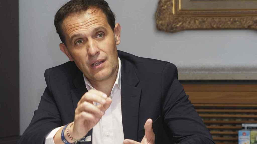 El presidente de la Diputación de Valladolid, Conrado Íscar