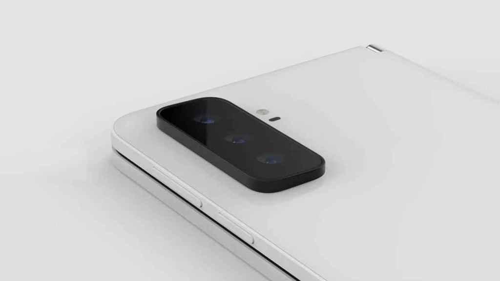 Render del Microsoft Surface Duo 2