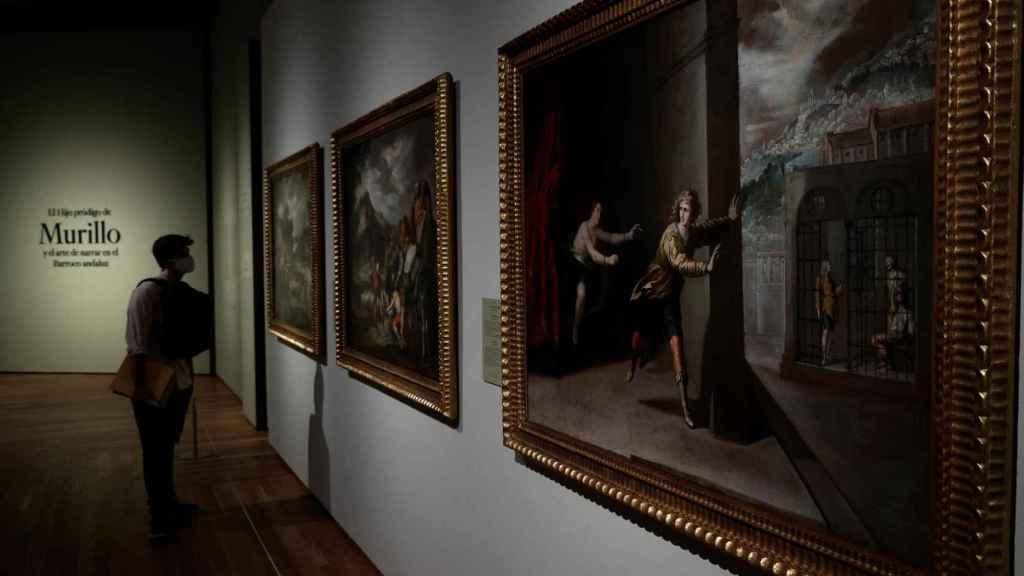 Vista de la sala dedicada a Murillo en la nueva exposición del Prado.