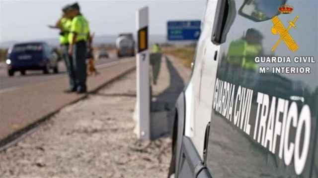Imagen de la Guardia Civil de Tráfico.
