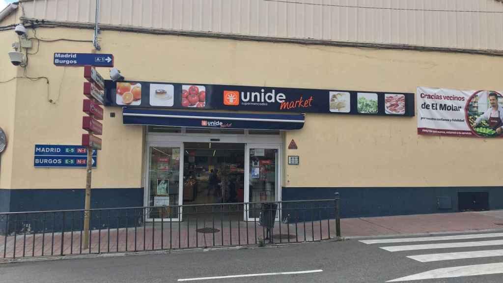 Supermercado donde se ha producido la agresión.