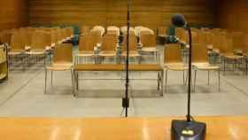 Sala de juicios, en imagen de archivo.