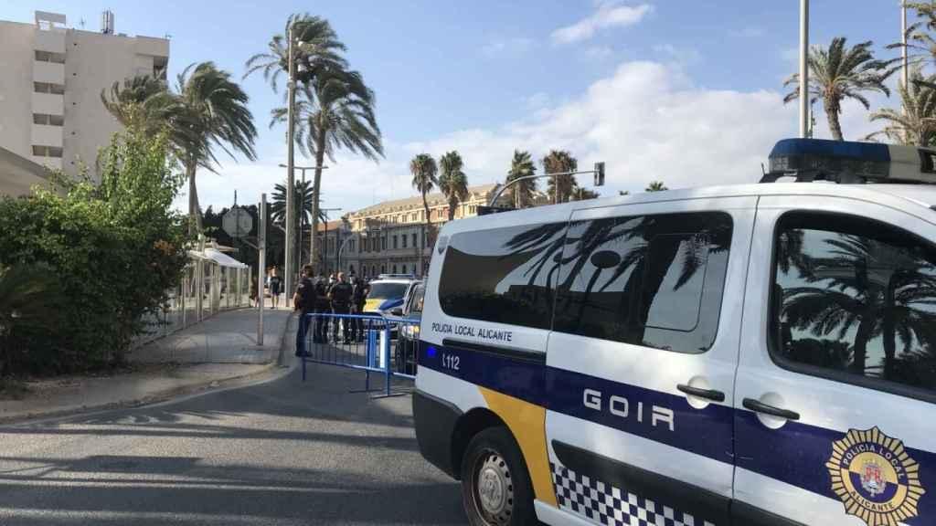 Alicante hace un balance positivo del dispositivo de seguridad anticovid del fin de semana