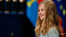 La princesa Leonor en los Premios Princesa de Asturias de 2019.