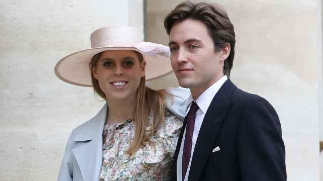 Beatriz de York y su marido, Edoardo Mapelli, en una imagen tomada en octubre de 2019.