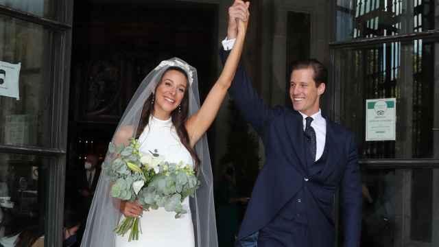 Vestido de corte sirena y una iglesia con historia: así ha sido la boda de la nieta de Jesús Gil y Philip Pérez-Cirera