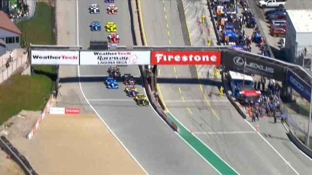 Colton Herta gana en Monterrey y Alex Palou queda más cerca del título de la Indycar
