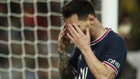 Leo Messi, en un partido del PSG de la temporada 2021/2022