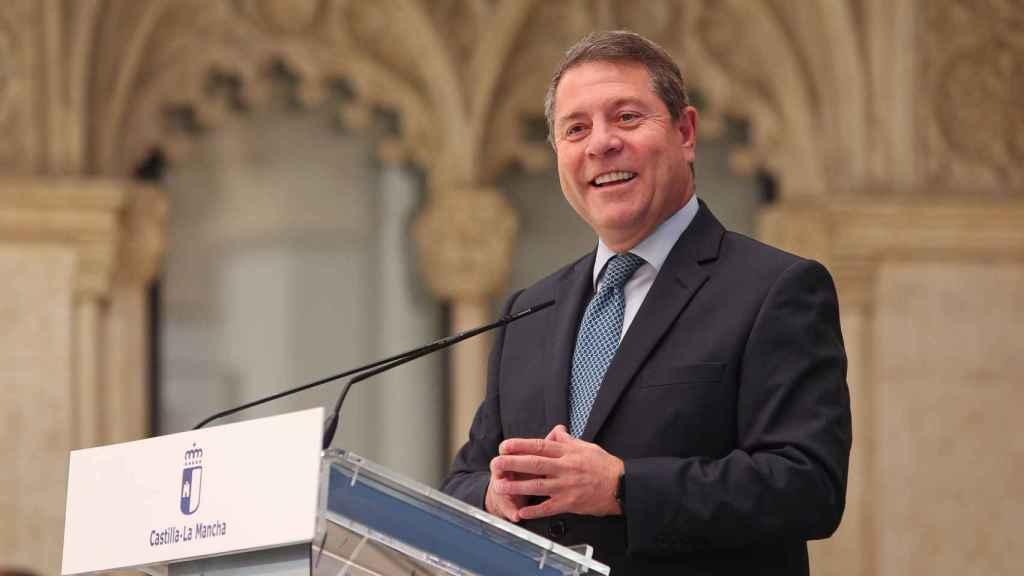 Emiliano García-Page, presidente de Castilla-La Mancha. Foto: Ó. HUERTAS