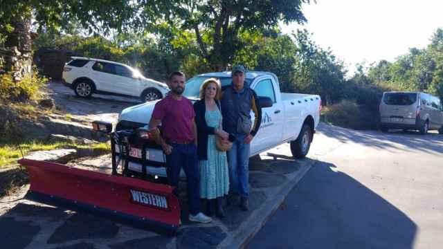 Vehículo todoterreno adquirido por el Ayuntamiento de Campillo de Ranas (Guadalajara)