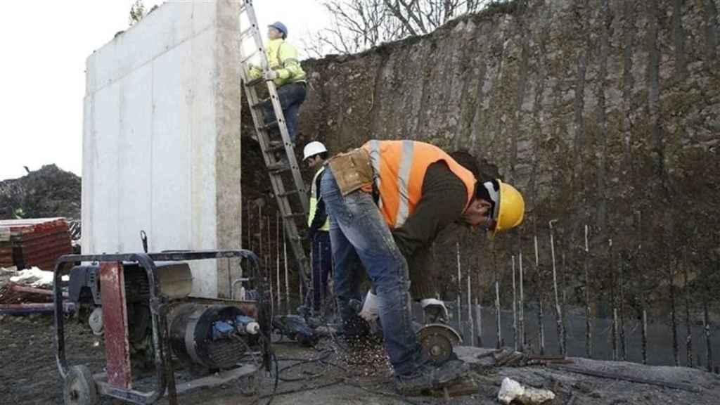 Trabajadores de un plan de empleo en la provincia de Toledo. Imagen de archivo