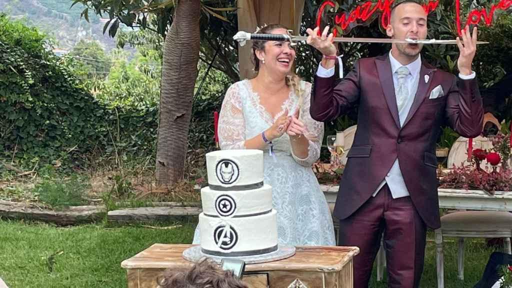 Boda de Rodrigo y Alejandra en la Finca Casa Yanes (La Palma)
