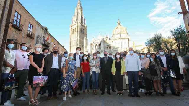 Tolón recibe a una importante organización internacional reunida en Toledo