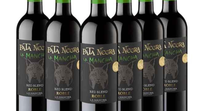 García Carrión lanza un nuevo y sorprendente vino manchego baja la marca Pata Negra