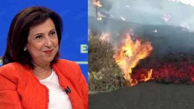 La ministra de Defensa, Margarita Robles, este lunes en Antena 3.